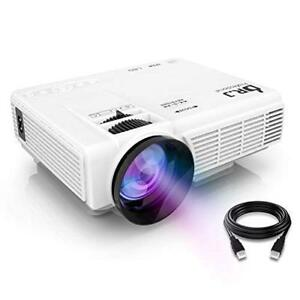 DR.J Upgrade 4 Inch Mini Projector 170