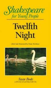 Twelfth Night Shakespeare for Young People Paperback GOOD