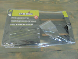 CHAR-BROIL UNIVERSAL PORCELAIN HEAT PLATE CHARBROIL BRAND NEW! 7884545