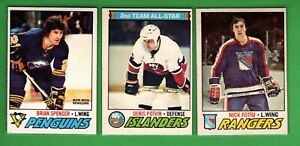 1977-78 OPC HOCKEY #201 TO 396 EX-MT OR BETTER - SELECT FROM LIST