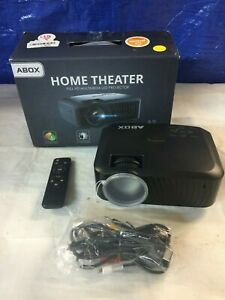 Projector  2019 Newest ABOX A2 Native 720P Portable Home Theater LCD HD Video P