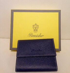 Pineider Wallet Fashion - Pineider Credit Card Holder Man/Woman
