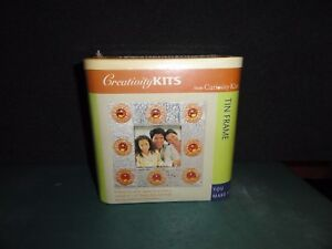 CREATIVITY KITS from CURIOSITY KITS TIN FRAME TIN AND COPPER PICTURE FRAME NEW