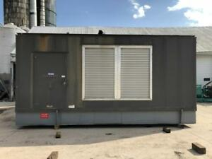 1000 kW CAT Generator Set Sound Attenuated 10 Lead 480 volts