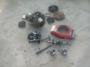 Riding Mower Engine-422707-PARTS-briggs16.5 twin opposing cylinder vertical