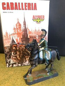 Alymer Military 90mm #50 Lancer 5th Light Cavalry Reg. 1812 France made in Spain