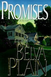 Book Hardcover Promises by Belva Plain FREE SHIP MAKE OFFER