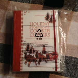William Sonoma 3D Story Book Cookie Cutter Set