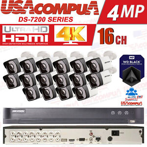 Q-See Security Camera System 16 Channel 4K CAMERA 1080P DVR  CCTV All Included