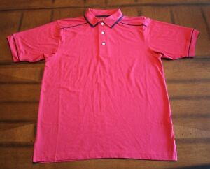 MENS~SPORT TEK by PORT AUTHORITY~POLO SHIRT~RED~3 BUTTON~SHORT SLEEVE~NWOT