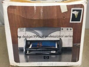 HP DeskJet 990Cxi Professional Series Inkjet Printer w Duplexer New In Box