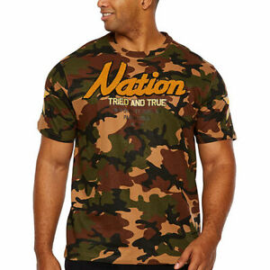 Parish Nation Men's Crew Neck Short Sleeve Camouflage Camo T-Shirt 2XLT