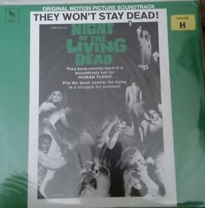 Night of the Living Dead STV 81151 Original Motion Picture Soundtrack New Sealed