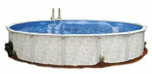 Embassy Pool 4-3216 Para101 Above Ground Swimming Pool 32-Feet By 16-Feet By 52