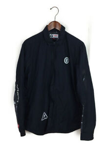 AAPE BY A BATHING APE UNIVERSE COTTON JACKET BLACK (L) Bape Authentic Rare