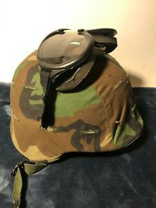 US Military Unicor PASGT Helmet M-3 DLA100-89-F-EA1B Great Condition