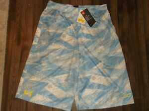 Stephen Curry Under Armour Print Basketball Shorts Youth XL 18 20 nwt Free Ship $24.99