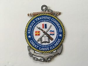 US NAVY RECRUIT TRAINING COMMAND GREAT LAKES ILLINOIS PATCH