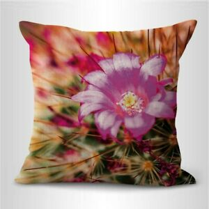 Cactus succulents blossom cushion cover throw pillow cover $14.99