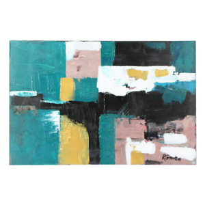 Randy Groden quot;Artaquot; Mixed Media on Canvas Painting $624.00