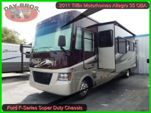 2011 Tiffin Allegro Open Road 35QBA Used Motorhome Gas Ford Triton V10 TorqShift