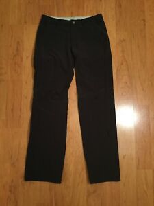 REI Hiking Camping Women's Roll Up Light Weighs Pants Black Size 6