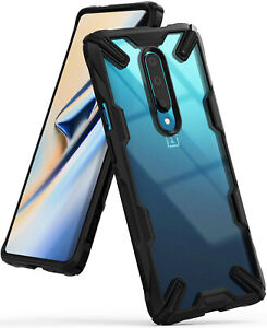 For OnePlus 7 Pro 5G Case  Ringke [FUSION-X] Clear Back Shockproof Bumper Cover