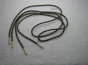 Recon Camo or White 550 Paracord Shoelace Boot Shoe Lace Bullet Nose Aglets~V