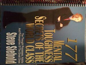 177 Mental Toughness Secrets of the World Class custom bound autographed by me.