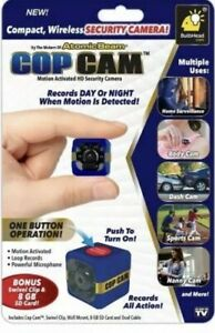 Cop Cam Motion Activated HD Security Camera As Seen on T.V.