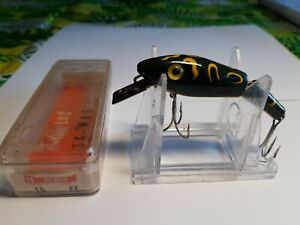 VINTAGE L&S BASS-MASTER #15FF LURE WITH ORIGINAL BOX  & AD LISTING