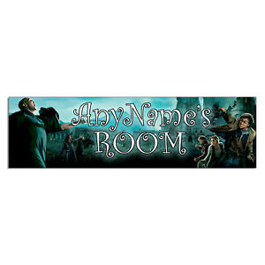 Personalized & Custom Printed Harry Potter Bedroom Poster Banner Decoration