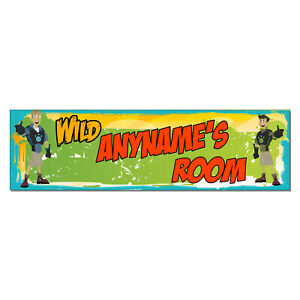 Personalized & Custom Printed Wild Kratts Brothers Bedroom Poster Banner Decor