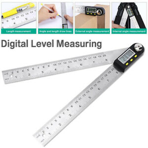 Digital Protractor Inclinometer Level Measuring Tool Electronic Angle Gauge $19.53