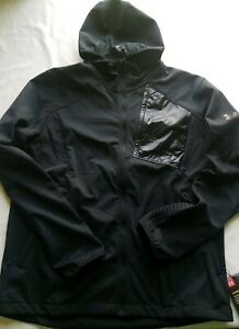 Under Armour Storm Cold Gear Jacket Hoodie -Water Resistant- Size XL