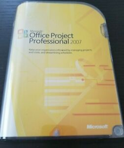 Microsoft Office Project Professional 2007 SKU H30-01854 Brand New Sealed Retail