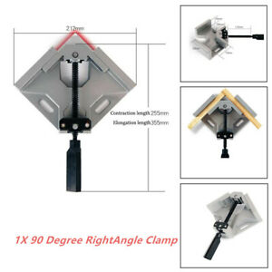 Two Axis Welding Clamp 90 Degree Right Angle Aluminum Alloy Woodworking Clamps