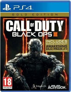 Call of Duty: Black Ops 3 Gold Edition PS4 Sony PlayStation 4 Brand New