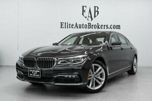 2016 BMW 7 Series 750i xDrive 750i xDrive 7 Series DRIVER ASSISTANCE PLUS-COLD WEATHER PKG-PARK ASSIST-LANE TR