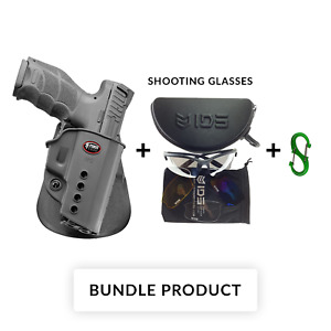 BUNDLE Fobus VPQ BH BELT HOLSTER for H&K SFP9/VP9, VP9SK, USP Full Size,P8
