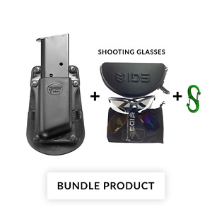 BUNDLE Fobus single Magazine Pouch for Single Stack .45Cal Magazines .45 45 1911