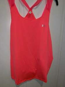 NWT Under Armour Women's Sport Strappy Tank Top UA Running Shirt XL Large NEW $18.95