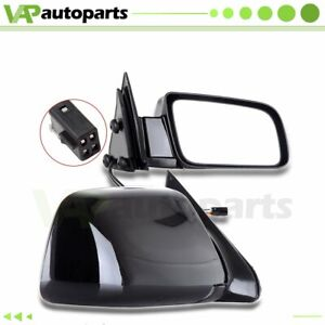 Pair Left amp; Right Power Side View Mirrors Fits Cadillac Chevrolet GMC $56.40