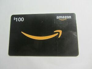 Brand NEW Amazon $100 Gift Card - Never Used FREE SHIPPING
