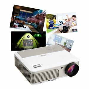 Multimedia 1080P Video LCD Projector Home Theater Backyard Movie Game HDMI VGA