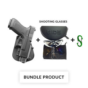BUNDLE Fobus belt retention holster for smith & wesson s&w 99, sigma series