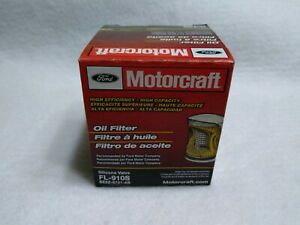 MOTORCRAFT FL-910S Engine Oil Filter Silicone Valve New