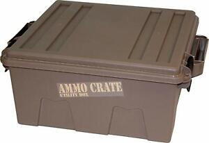Heavy Duty Ammo Utility Box for Storing Hunting or Survival Gear - 7.25