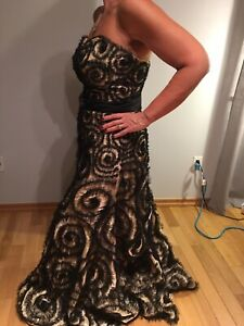 Designer evening gown size 10