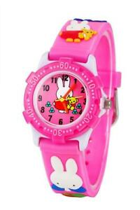 Toddler Kids Children Watch3D Cute Cartoon Silicone Band Wristwatches Time Teac